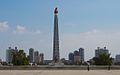 Tower of the Juche Idea Pyongyang, DPRK (11745176916).jpg