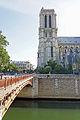 Towers of Notre-Dame de Paris, 22 June 2014.jpg
