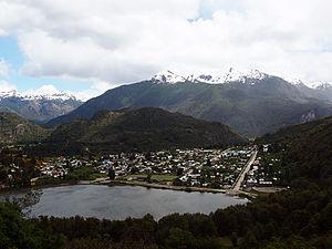 Futaleufú, Chile - Image: Town of futaleufu