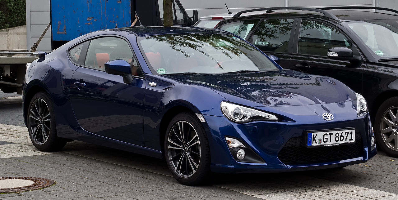 Build A Toyota >> File:Toyota GT86 – Frontansicht (1), 17. September 2012