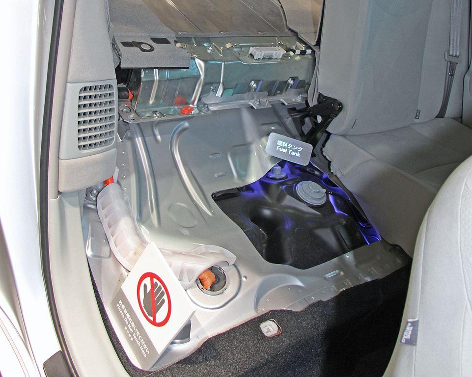 Prius Tank Size >> File Toyota Prius Phv Fuel Tank Jpg Wikimedia Commons