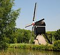 Traditional windmill at Nieuwegein, sideview - panoramio.jpg