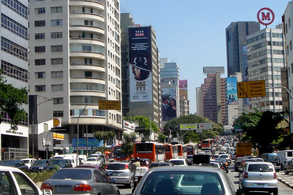 Traffic jam Sao Paulo 09 2006 30a