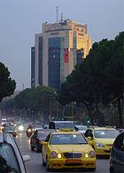 Traffico a Tirana