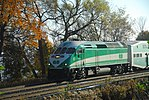 Trainspotting GO train -440 headed by MPI MP40PH-3C - 651 (8123544950).jpg
