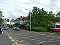 Tram Crossing, Bingham Road, Addiscombe - geograph.org.uk - 474572.jpg