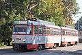 Tram in Sofia in front of Tram depot Banishora 008.jpg