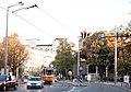 Tram in Sofia near St Nedelya Church 2012 PD 017.jpg