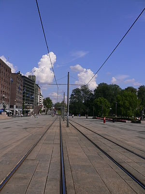 Vika Line - The City Hall Square