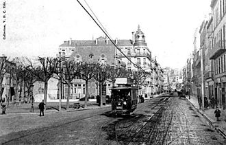 Clermont-Ferrand tramway - Clermont-Ferrand tram in the early 1900s.