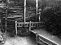 Trench, tomb, First World War Fortepan 62719.jpg