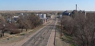 Trenton, Nebraska - Trenton in 2013 (looking south)