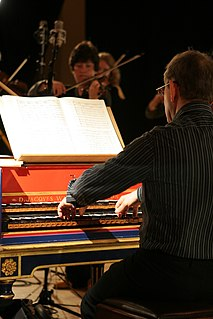 Harpsichordist person who plays the harpsichord