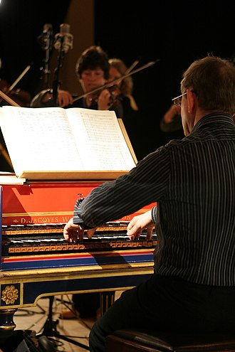 Trevor Pinnock - Pinnock at the harpsichord