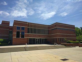 DeSales University - The entrance to Trexler Library at DeSales University.