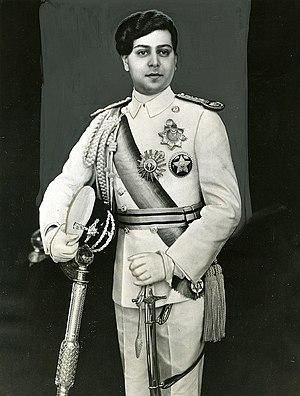 Tribhuvan of Nepal - King Tribhuwan in 1937 AD