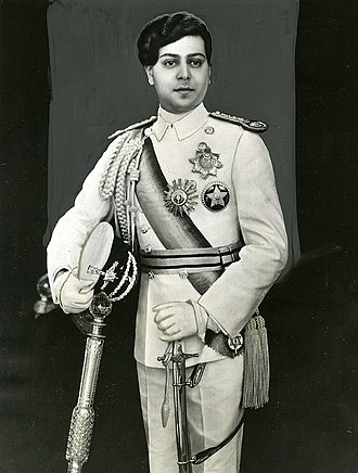 Tribhuvan of Nepal - King Tribhuwan in 1937