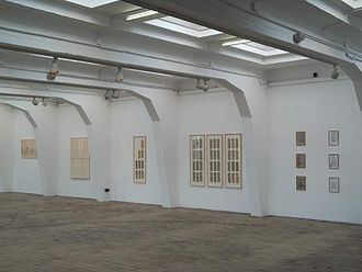 Michael Bach (musician) - Exhibition of the Fingerboards in Trier, Germany 2012