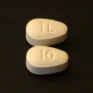 Vortioxetine - 10mg tablets of brand-name vortioxetine (Trintellix, formerly known as Brintellix).