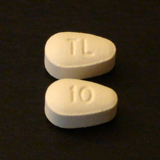 Vortioxetine - 10mg tablets of brand-name vortioxetine (Trintellix, formerly known as Brintellix).