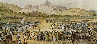 Balaiada - Image: Tropas brasileiras 1835