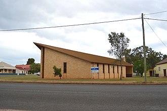 Trundle, New South Wales - Image: Trundle Anglican Church 001