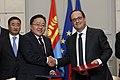 Tsakhiagiyn Elbegdorj and François Hollande 2015.jpg