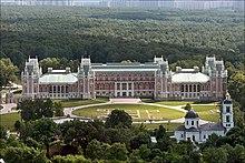 Il grande palazzo di Tsaritsyno