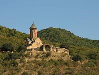 church building in Bolnisi Municipality, Georgia