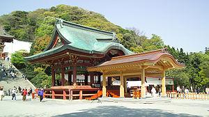 Kagura-den - Tsurugaoka Hachiman-gū's kagura-den
