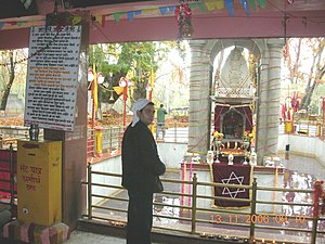 Kheer Bhawani - Devotee at the Temple