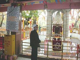 Kheer Bhawani - Devotee at the Temple