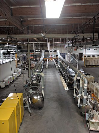 Jelly Belly - Image: Tumblers at the Jelly Belly factory.gk
