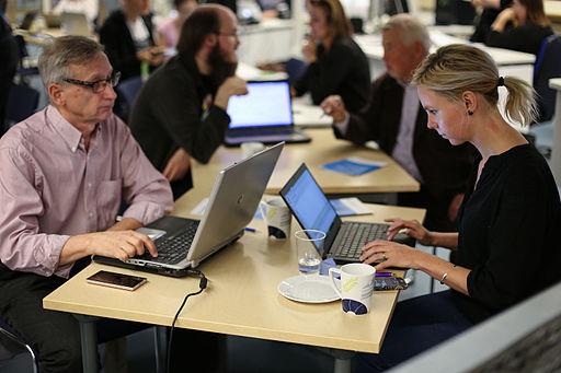 Tuo kulttuuri Wikipediaan participants