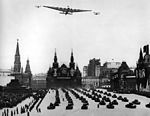 """Tupolev ANT-20 """"Maxim Gorky"""" overflying Red Square, Moscow.jpg"""