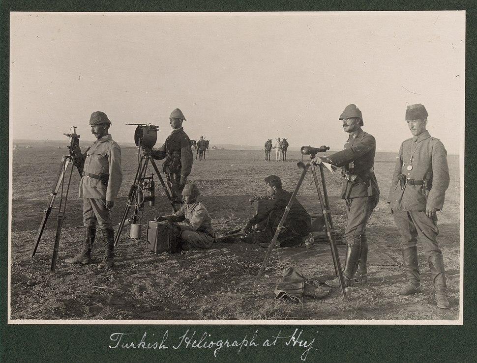 Turkish heliograph at Huj