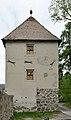 Turm mit Wappen Trostburg.JPG