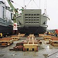 Two LCU 2000 loaded as deck cargo on the Strong Virginian.jpg