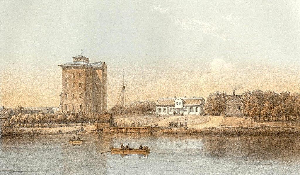 Tynnelsö slott 1869.