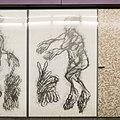 U2 Museumsquartier Kunst Bahnsteig 2 Zeichnung 05 Die Liebende.jpg