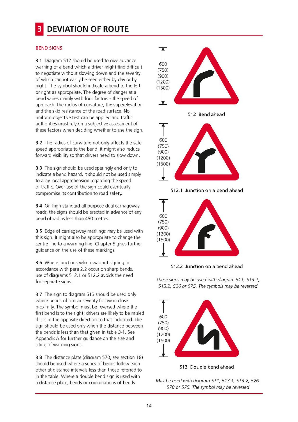 page uk traffic signs manual chapter 4 warning signs 2013 pdf
