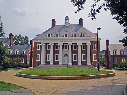Talbot Hall in the South Hill community UMD Talbot.JPG