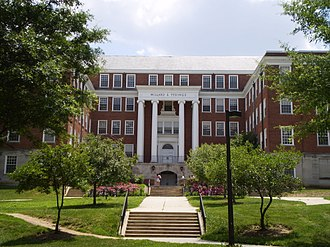 University of Maryland College of Behavioral and Social Sciences - Image: UMD Tydings North