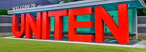 Universiti Tenaga Nasional - Image: UNITEN
