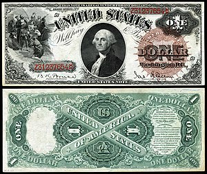 United States one-dollar bill - Series 1880 $1 Legal Tender