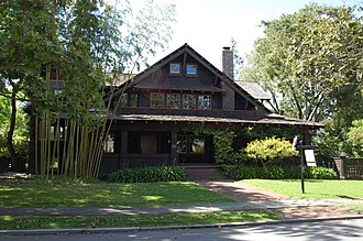 National Register of Historic Places listings in Santa Clara County, California - Image: USA Palo Alto Theophilus Allen House
