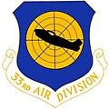 USAF 33d Air Division Crest.jpg
