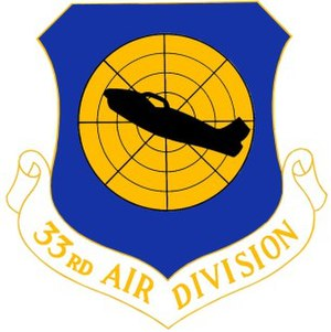 Fort Lee Air Force Station - Emblem of the 33d Air Division