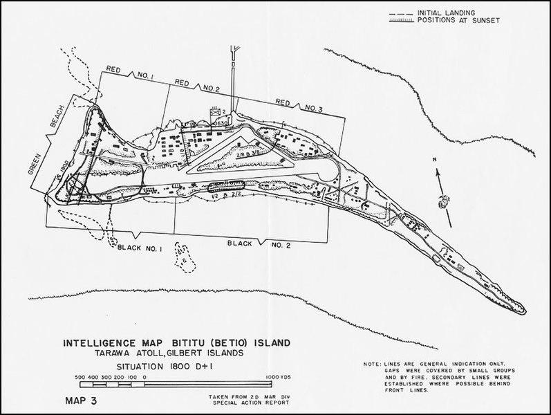 19 - 23 Novembre 1943 : La bataille de Tarawa :  797px-USMC-M-Tarawa-3