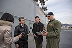 USS Bonhomme Richard (LHD 6) Welcomes Asahi Shimbun Reporter 170118-N-TH560-058.jpg